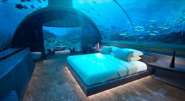 马尔代夫伦格里岛康莱德度假村宣布兴建全球首家海底寓所