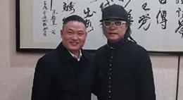 1月3日, 广东省食文化研究会会长-庄臣与我司总经理进行深入交流